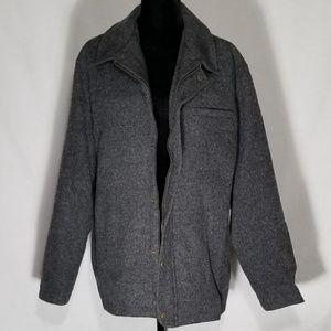 Pendleton Grey Wool Coat